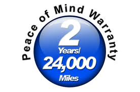 Two year warranty on parts and service
