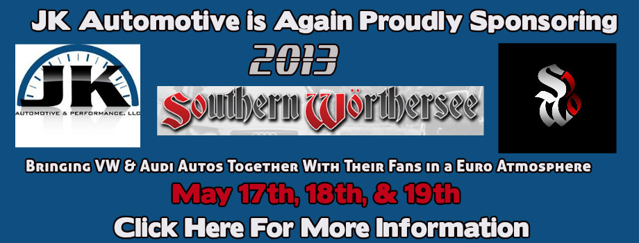Come see us at Southern Worthersee 2013