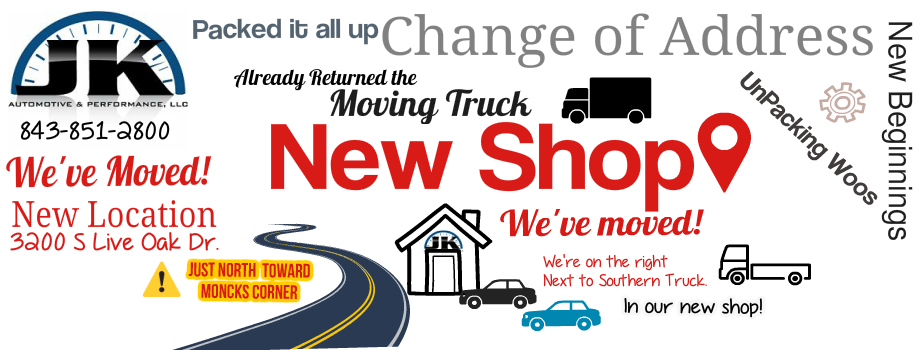 April 2018 JK Auto Moves to New Location